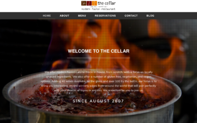 Launched: The Cellar Modern Fusion Restaurant